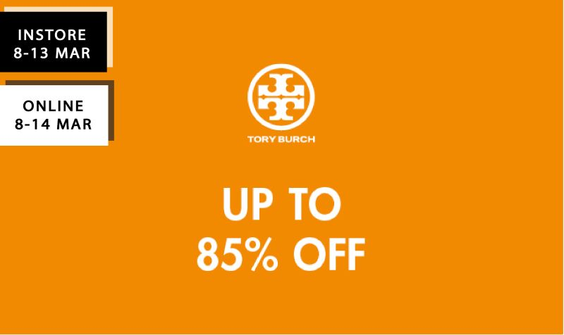 Tory Burch Flash Sales (In-store & Online)